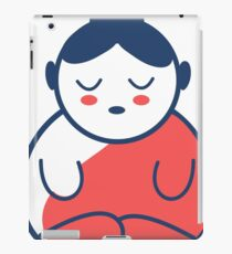 Buddha tattoo, yoga, spirituality. iPad Case/Skin