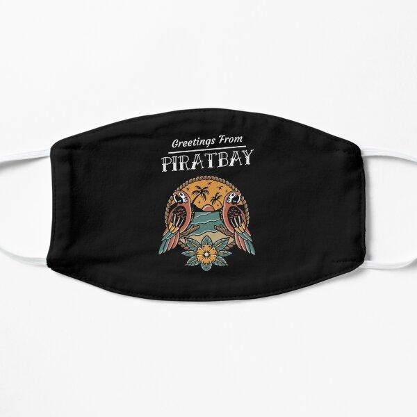 Papagei Cooles Tattoo Design für Träumer Flache Maske