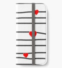 Hearts and stripes iPhone Wallet/Case/Skin
