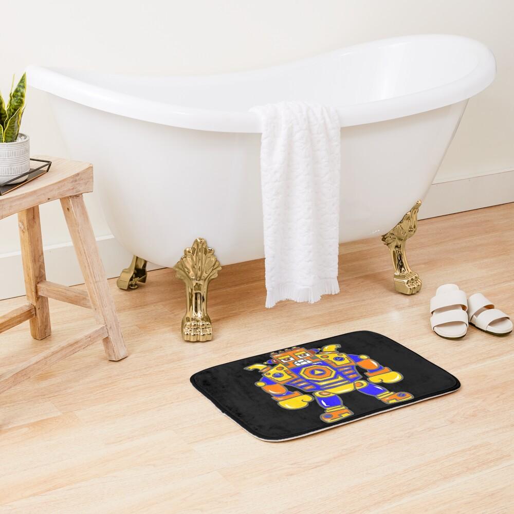 Huge Robot Bath Mat