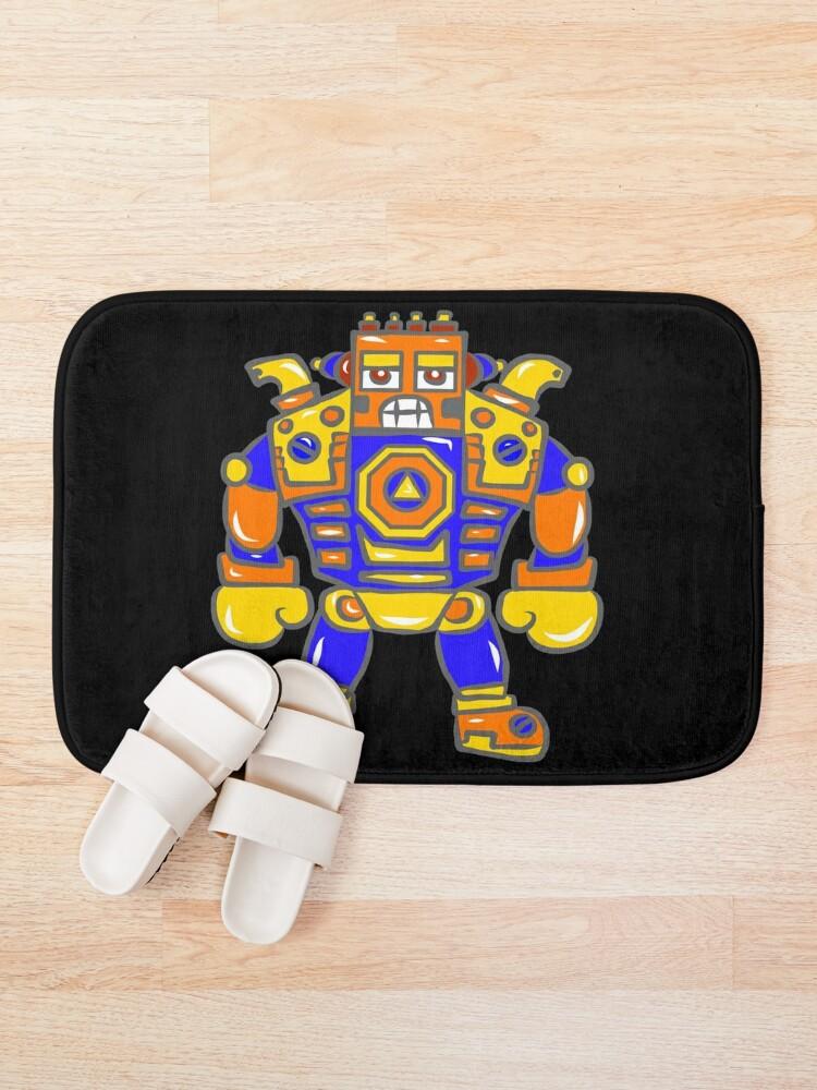 Alternate view of Huge Robot Bath Mat