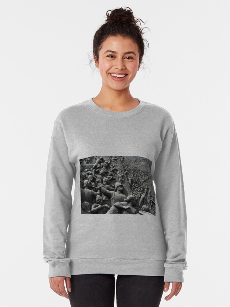 Alternate view of Ottoman Turks lay siege to Hungarian town Pullover Sweatshirt