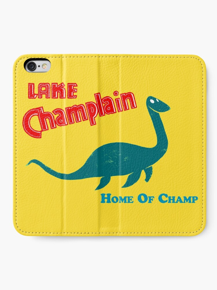 Alternate view of Lake Champlain  iPhone Wallet