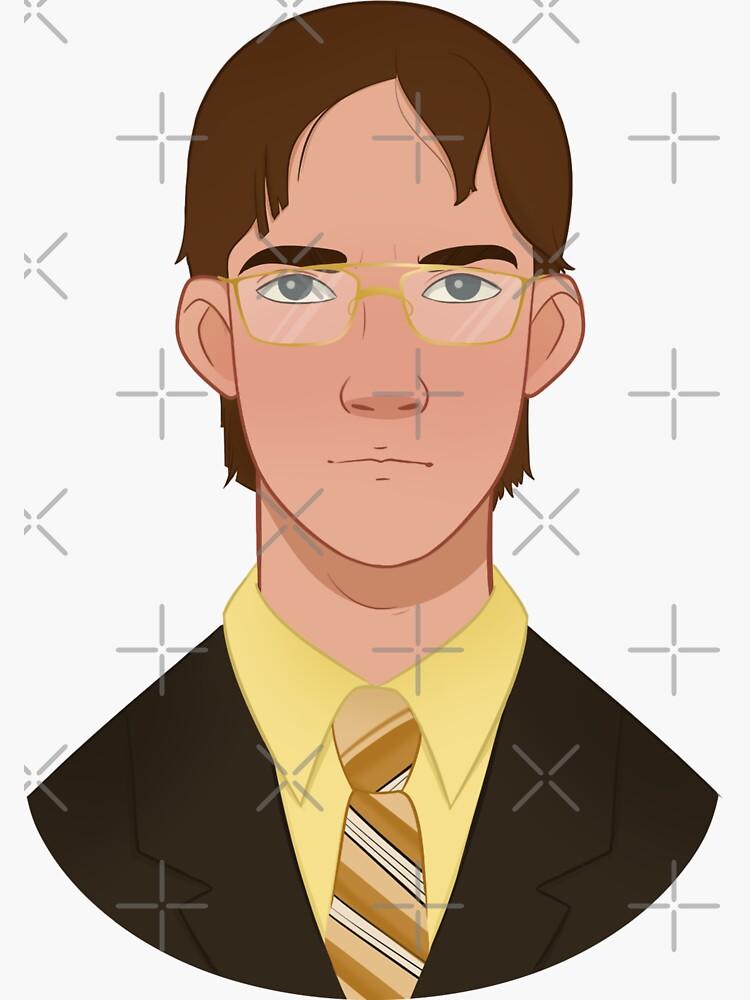 Jim as Dwight by farrahkhater