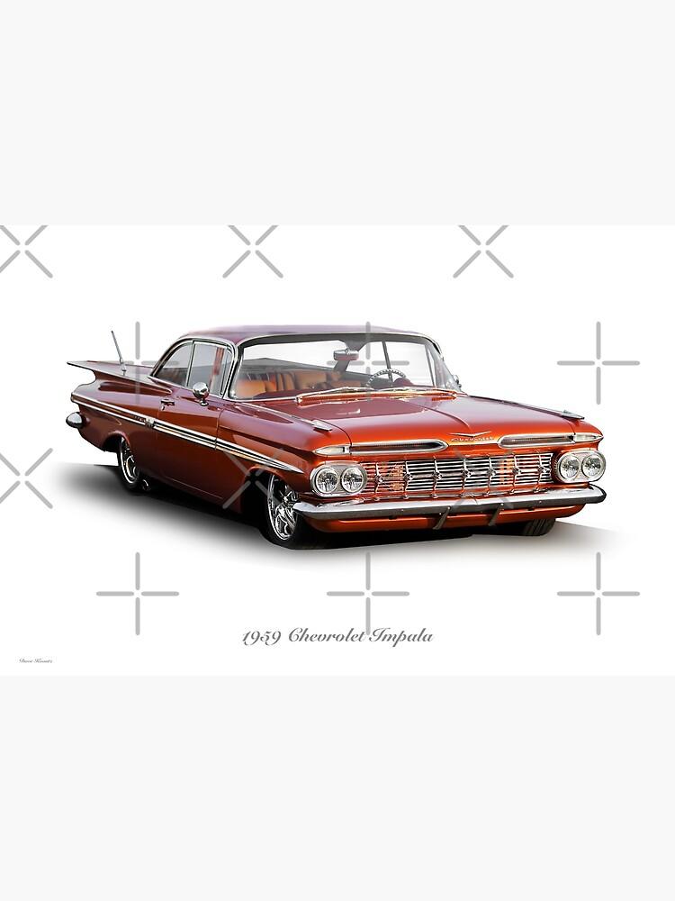 1959 Chevrolet Custom Impala by DaveKoontz