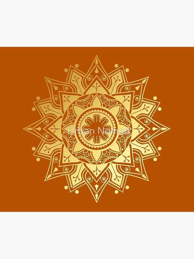 Gold Mandala by maizeofficial