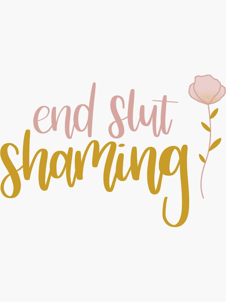 end slut shaming by kokobeanco