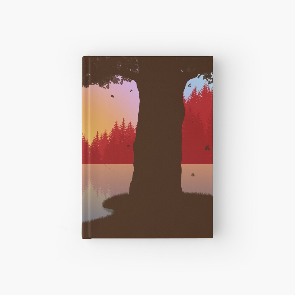 Fishermans lake Hardcover Journal