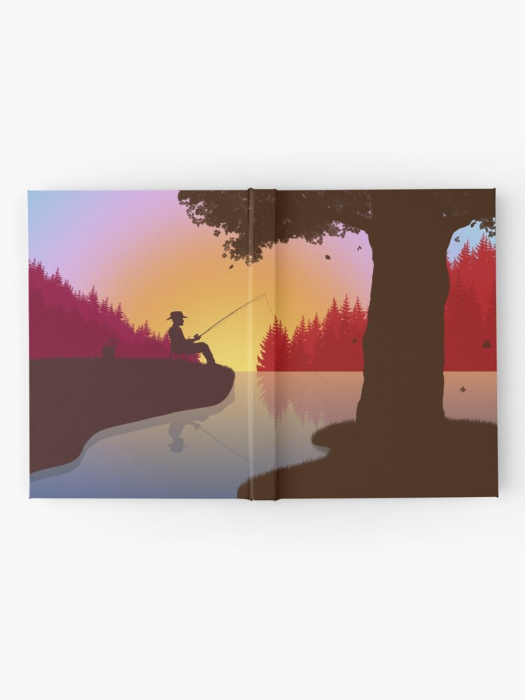 Alternate view of Fishermans lake Hardcover Journal