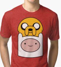 Finn and Jake Tri-blend T-Shirt