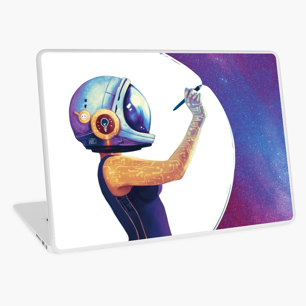 Welcome to my Universe Laptop Skin