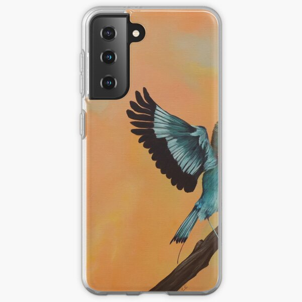 "Kuwasili ""Arrival"" - Orange  Samsung Galaxy Soft Case"