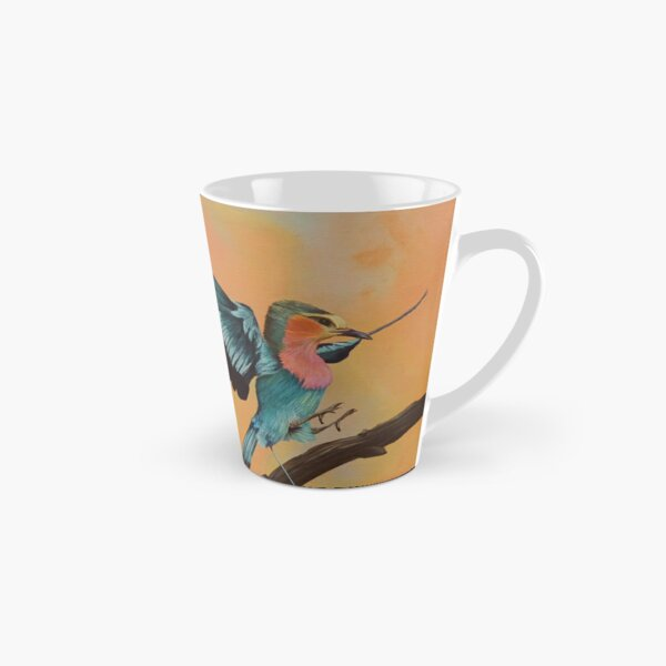 "Kuwasili ""Arrival"" - Orange  Tall Mug"