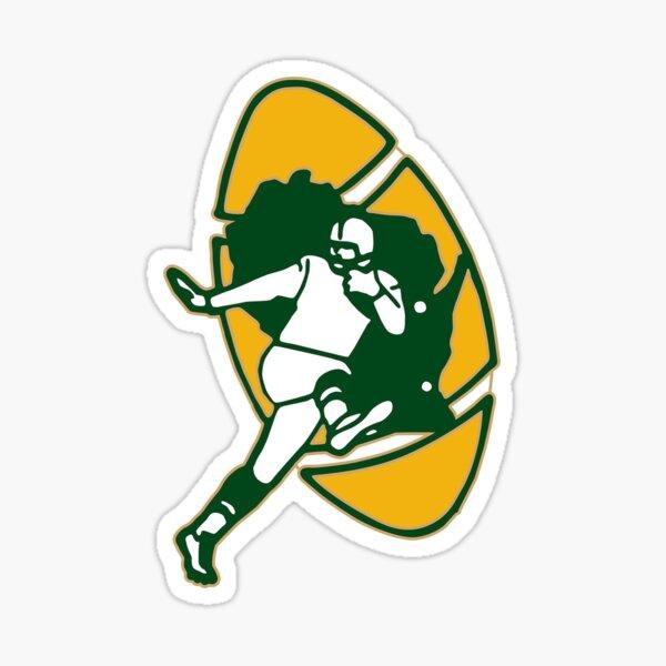 Kick Ball Green Bay-Packers Sticker
