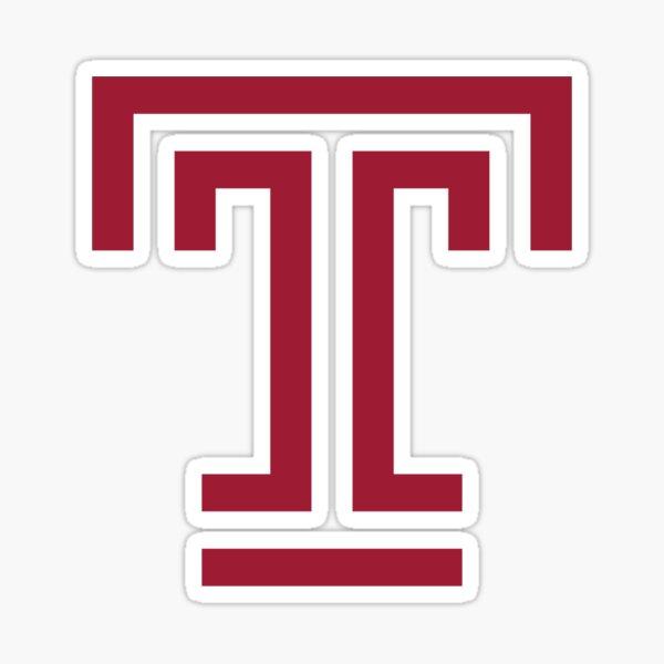 T for Temple U Sticker