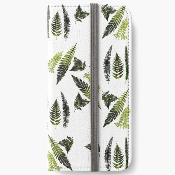 Fronds of ferns iPhone Wallet