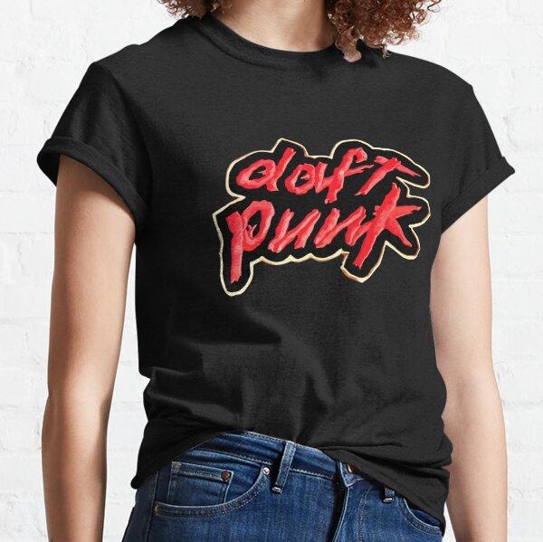 Logotipo de Daft Punk Camiseta clásica