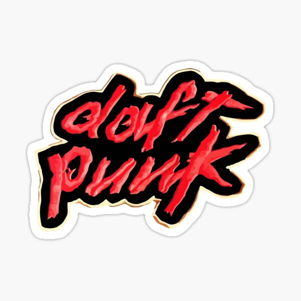 Logo Daft Punk Sticker