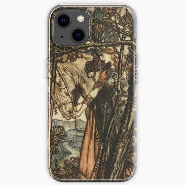 Arthur Rackham  - WAGNER'S RING CYCLE The Valkyrie  iPhone Soft Case