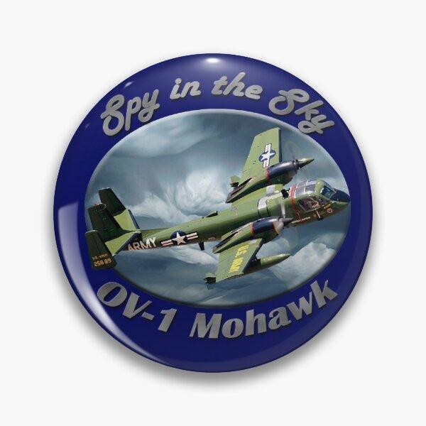 OV-1 Mohawk Spy In The Sky Pin