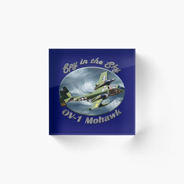 OV-1 Mohawk Spy In The Sky Acrylic Block