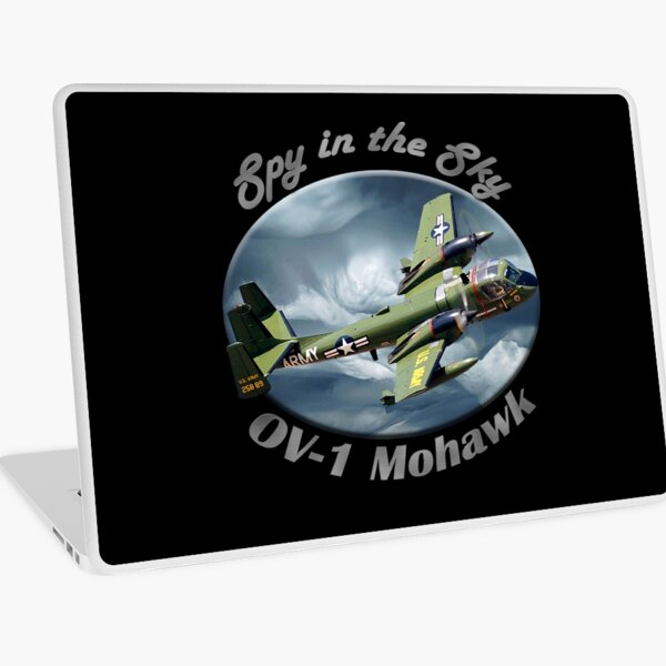 OV-1 Mohawk Spy In The Sky Laptop Skin