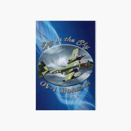 OV-1 Mohawk Spy In The Sky Art Board Print