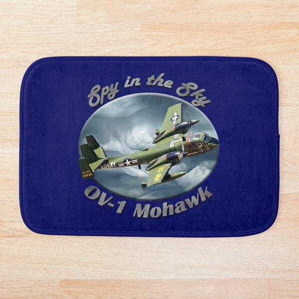 OV-1 Mohawk Spy In The Sky Bath Mat