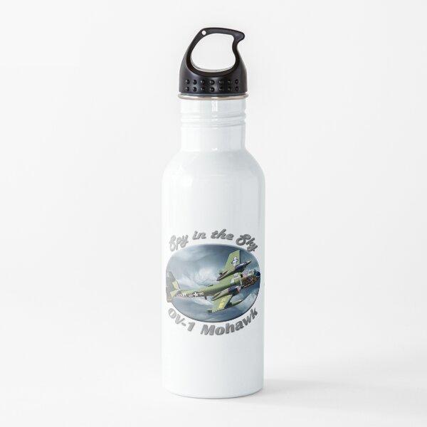 OV-1 Mohawk Spy In The Sky Water Bottle