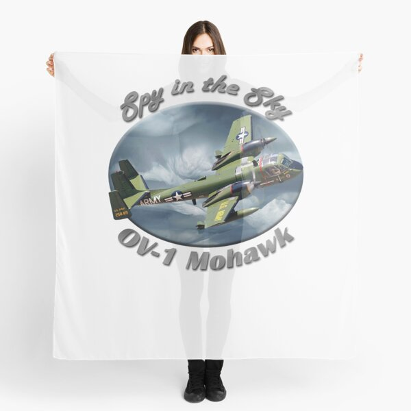 OV-1 Mohawk Spy In The Sky Scarf