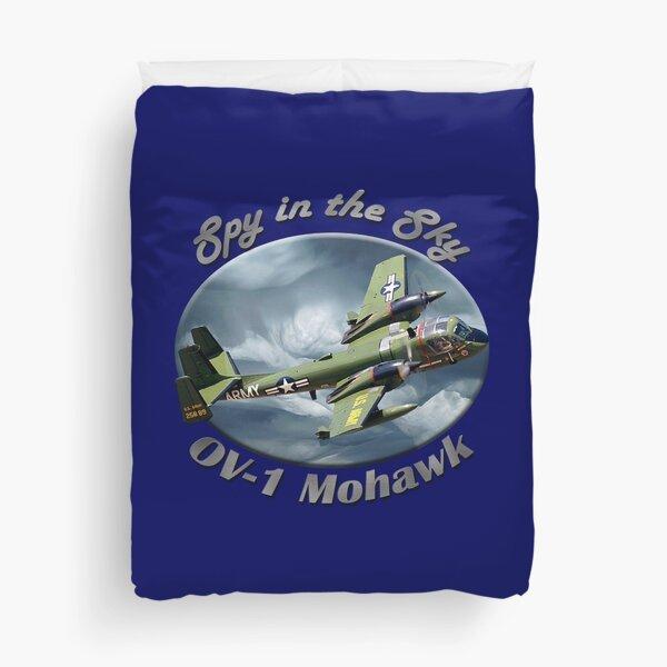 OV-1 Mohawk Spy In The Sky Duvet Cover