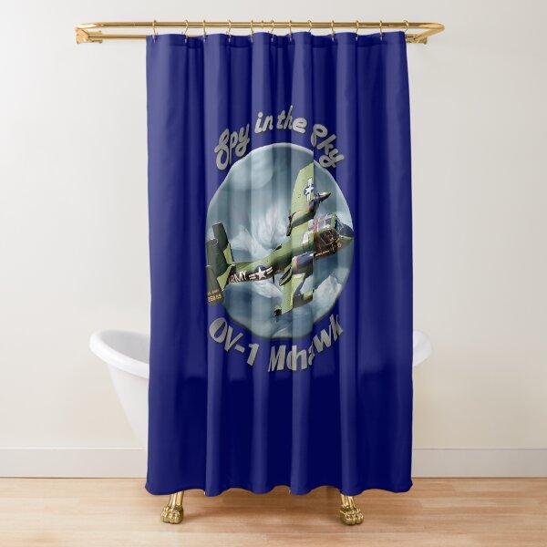 OV-1 Mohawk Spy In The Sky Shower Curtain