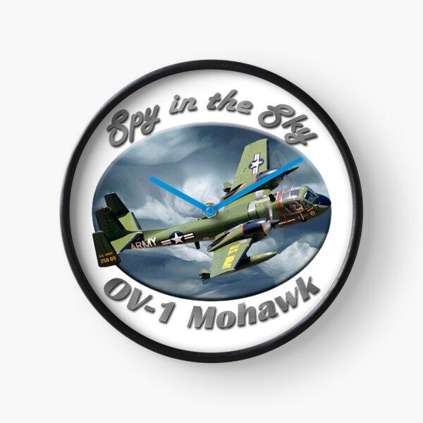 OV-1 Mohawk Spy In The Sky Clock