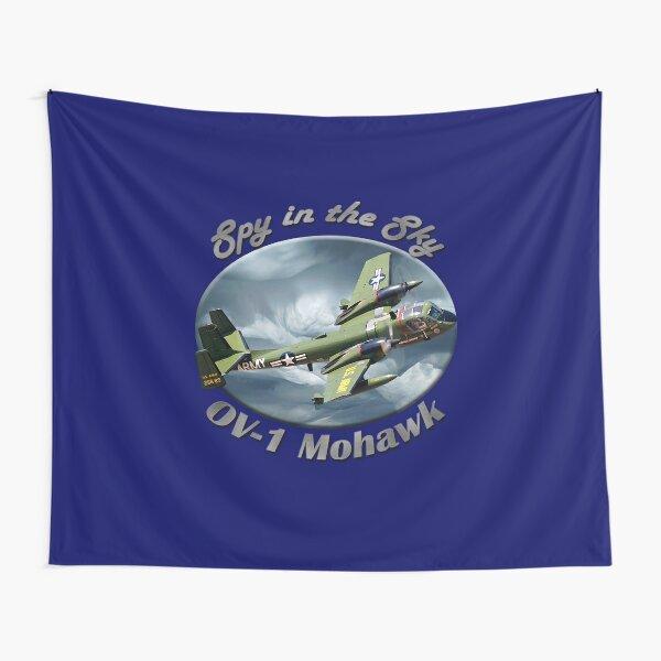 OV-1 Mohawk Spy In The Sky Tapestry