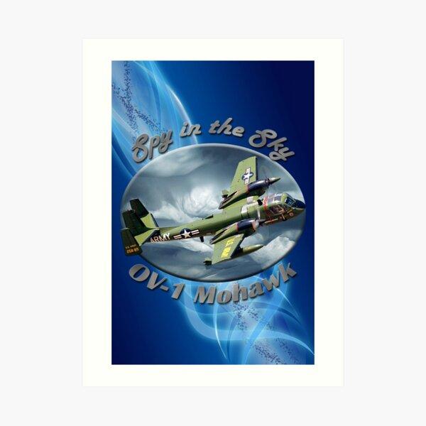 OV-1 Mohawk Spy In The Sky Art Print