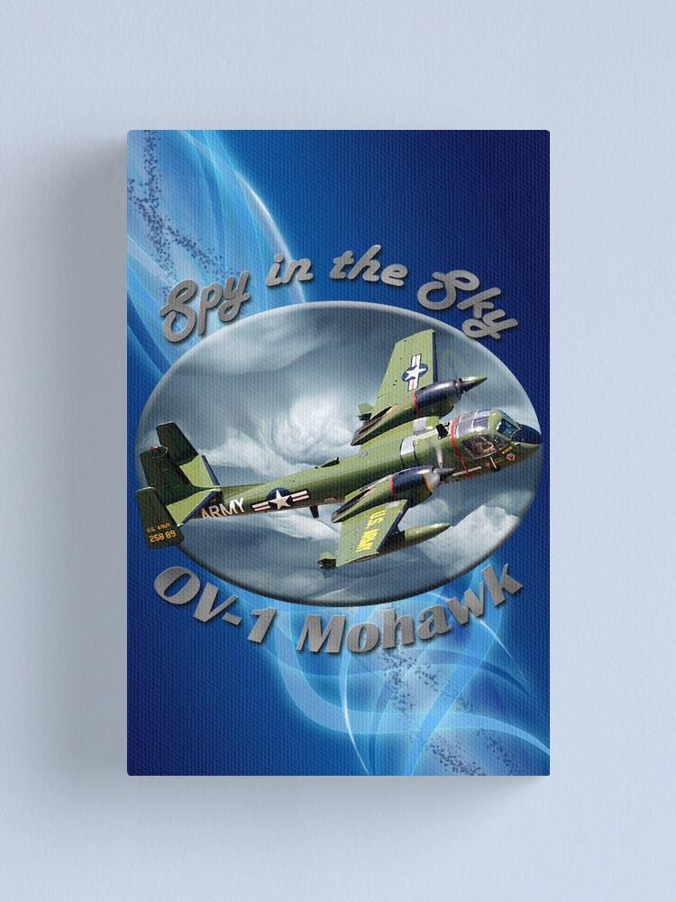 Alternate view of OV-1 Mohawk Spy In The Sky Canvas Print