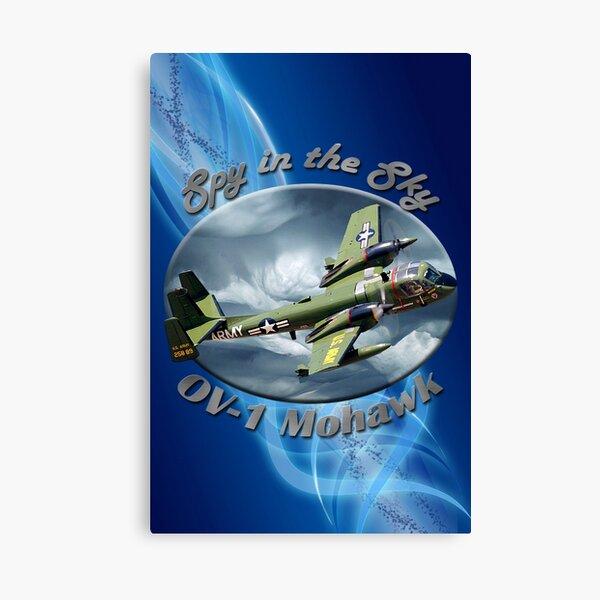 OV-1 Mohawk Spy In The Sky Canvas Print