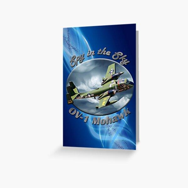 OV-1 Mohawk Spy In The Sky Greeting Card