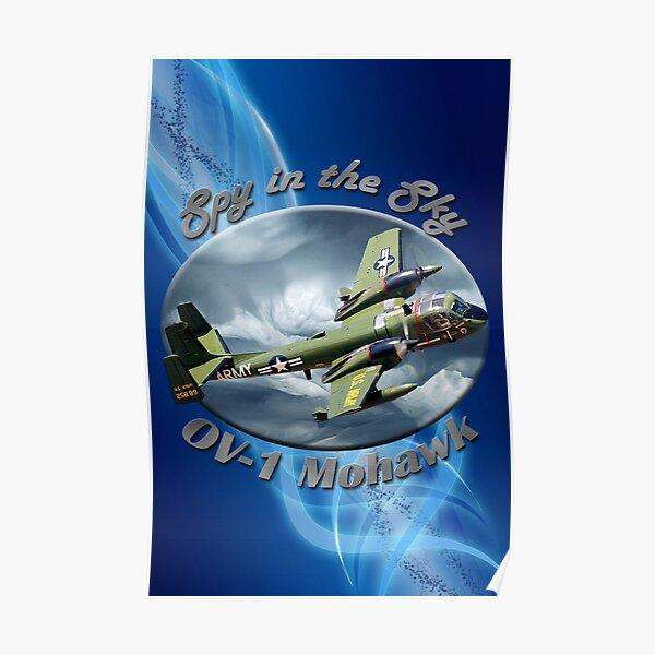 OV-1 Mohawk Spy In The Sky Poster