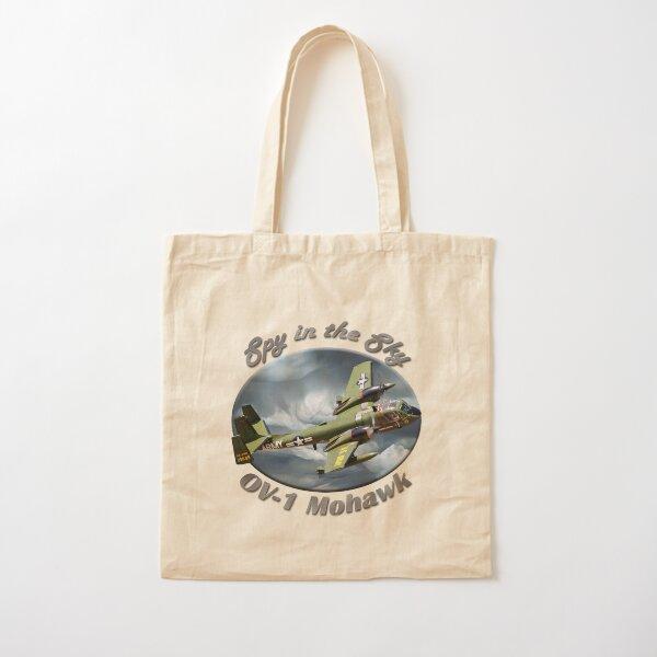 OV-1 Mohawk Spy In The Sky Cotton Tote Bag