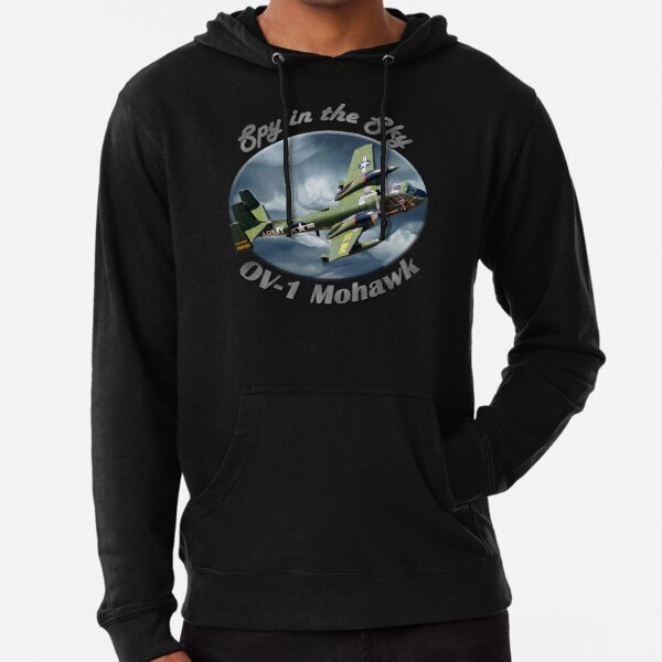 OV-1 Mohawk Spy In The Sky Lightweight Hoodie