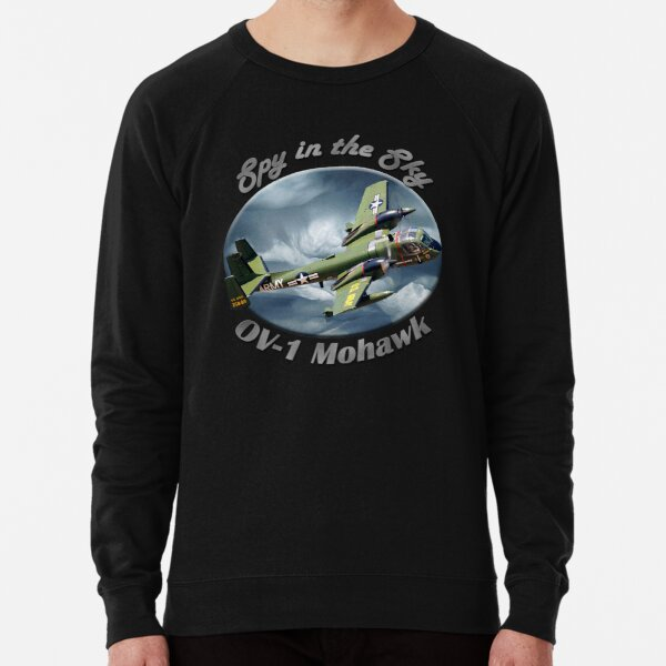 OV-1 Mohawk Spy In The Sky Lightweight Sweatshirt