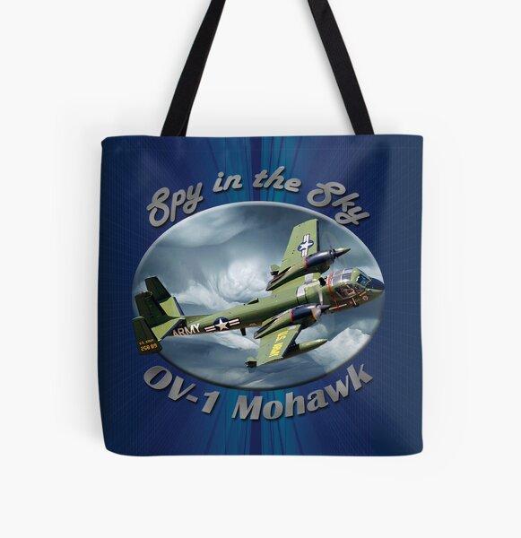 OV-1 Mohawk Spy In The Sky All Over Print Tote Bag