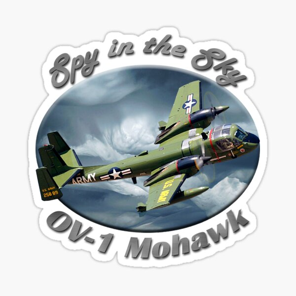 OV-1 Mohawk Spy In The Sky Sticker