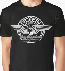 Dr.Teeth and the Electric Mayhem - MonoChrome Logo Design Graphic T-Shirt