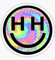 Happy Hippie Foundation Logo [Tie-Dye] Sticker