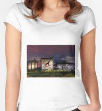 Dingo Flour - Fremantle Western Australia  Women's Fitted Scoop T-Shirt