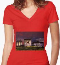 Dingo Flour - Fremantle Western Australia  Women's Fitted V-Neck T-Shirt