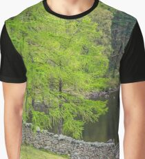Blea Tarn Lake District Graphic T-Shirt
