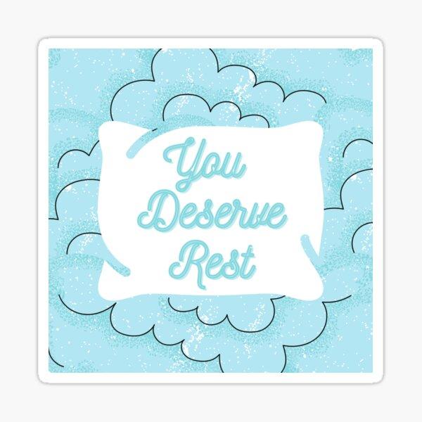 Rest Sticker